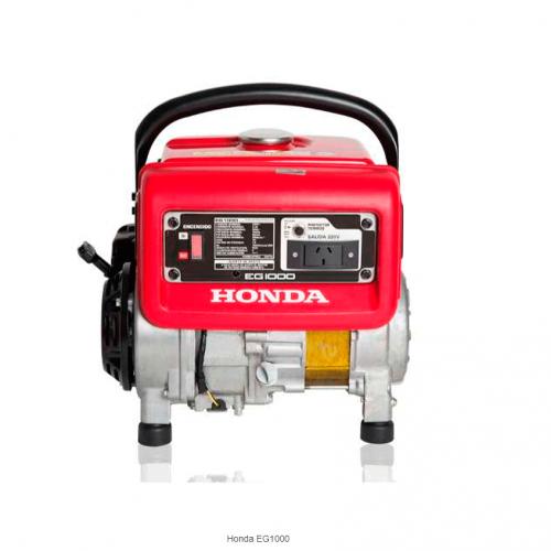 Generador / grupo electrógeno Monofásico con AVR  EG1000 RA Honda