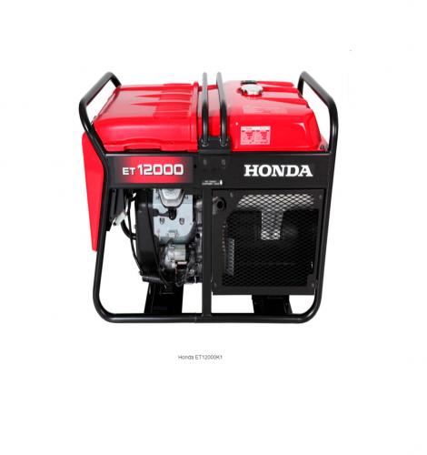 Generador / grupo electrógeno trifásico con AVR ET12000K1 RRH Honda