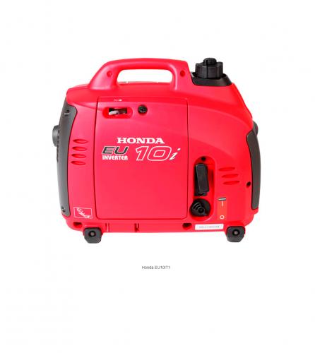 Generador portátil Invertir insonorizado monofásico EU10lT1 Honda
