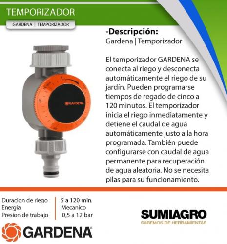 Temporizador - GARDENA